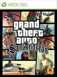 Portada oficial de Grand Theft Auto: San Andreas XBLA para Xbox 360