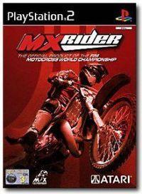 Portada oficial de MX Rider para PS2