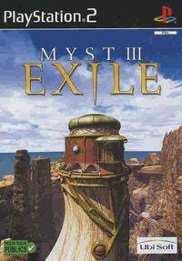 Portada oficial de Myst III: Exile para PS2
