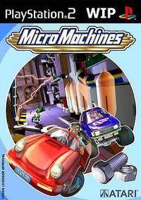 Portada oficial de Micro Machines para PS2