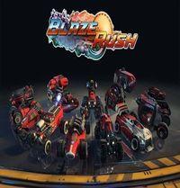 Portada oficial de BlazeRush para PS4