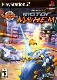 Portada oficial de Motor Mayhem para PS2