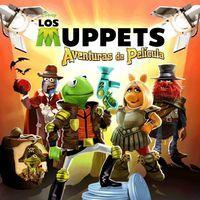 Portada oficial de Los Muppets Aventuras de película para PSVITA