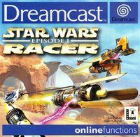 Portada oficial de Star Wars Episode 1: Racer para Dreamcast