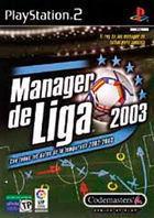 Portada oficial de de Manager de Liga 2003 para PS2