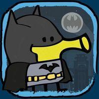Portada oficial de Doodle Jump DC Super Heroes para iPhone