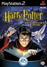 Portada oficial de Harry Potter y la Piedra Filosofal para PS2
