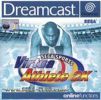 Portada oficial de Virtua Athlete 2K para Dreamcast