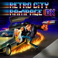 Portada oficial de Retro City Rampage DX para PS4