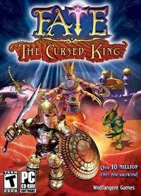 Portada oficial de FATE: The Cursed King para PC