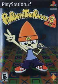 Portada oficial de PaRappa the Rapper 2 para PS2