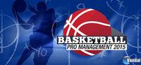 Portada oficial de Basketball Pro Management 2015 para PC