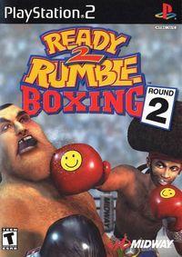 Portada oficial de Ready 2 Rumble Boxing Round 2 para PS2
