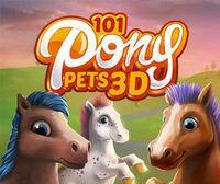 Portada oficial de 101 Pony Pets 3D eShop para Nintendo 3DS