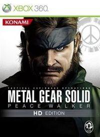 Portada oficial de Metal Gear Solid Peace Walker HD Edition XBLA para Xbox 360