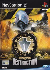 Portada oficial de Robot Wars - Arenas of Destruction para PS2