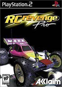 Portada oficial de RC Revenge Pro para PS2