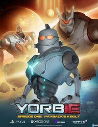 Portada oficial de Yorbie Episode 1: Payback's a Bolt para PS4