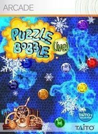 Portada oficial de PUZZLE BOBBLE Live! XBLA para Xbox 360