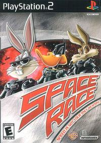 Portada oficial de Space Race para PS2