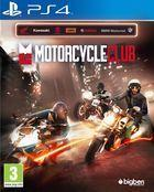 Portada oficial de de Motorcycle Club para PS4