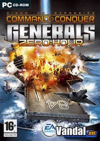 Portada oficial de Command & Conquer: Generals Zero Hour para PC