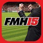 Portada oficial de de Football Manager Handheld 2015 para Android