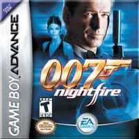 Portada oficial de James Bond 007: Nightfire para Game Boy Advance