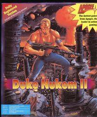 Portada oficial de Duke Nukem 2 para PC