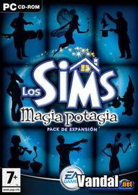 Portada oficial de Los Sims: Magia Potagia para PC