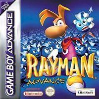 Portada oficial de Rayman Advance para Game Boy Advance