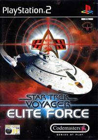 Portada oficial de Star Trek Voyager: Elite Force para PS2