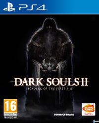 Portada oficial de Dark Souls II: Scholar of the First Sin para PS4