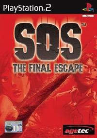 Portada oficial de SOS The Final Escape para PS2