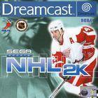 Portada oficial de de NHL 2K para Dreamcast