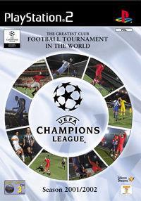 Portada oficial de UEFA Champions League Season 2001/2002 para PS2