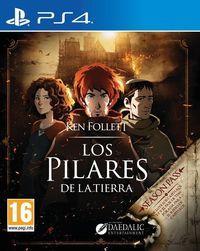 Portada oficial de Los pilares de la Tierra para PS4