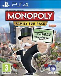Portada oficial de Monopoly Family Fun Pack para PS4