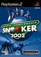 Portada oficial de de World Championship Snooker 2002 para PS2