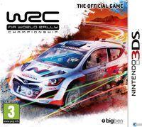 Portada oficial de WRC (FIA World Rally Championship) para Nintendo 3DS