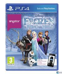 Portada oficial de SingStar Frozen para PS4
