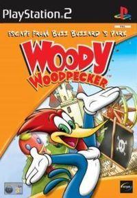 Portada oficial de Woody Woodpecker para PS2