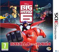 Portada oficial de Big Hero 6: Batalla en la Bahía para Nintendo 3DS