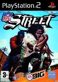 Portada oficial de NFL Street para PS2