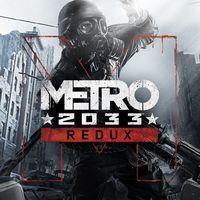 Portada oficial de Metro 2033 Redux para PS4