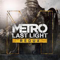 Portada oficial de Metro Last Light Redux para PS4