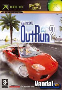 Portada oficial de Outrun 2 para Xbox
