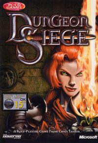 Portada oficial de Dungeon Siege para PC