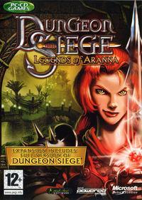 Portada oficial de Dungeon Siege: Legends of Aranna para PC