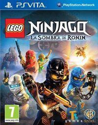 Portada oficial de LEGO Ninjago: La Sombra de Ronin para PSVITA